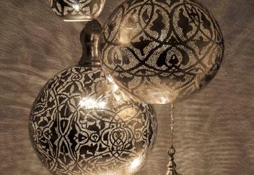 lampy marokańskie orientalne