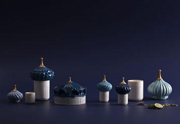 luksusowe świece porcelanowe