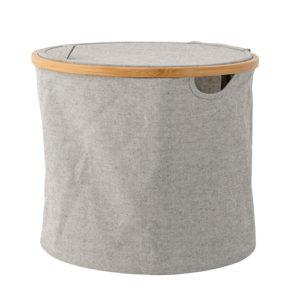 okrągły kosz na pranie