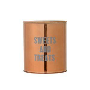metalowy pojemnik na słodkości