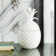 ceramiczne pudełko ananas