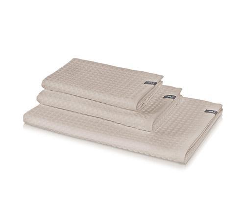 zestaw trzech ręczników