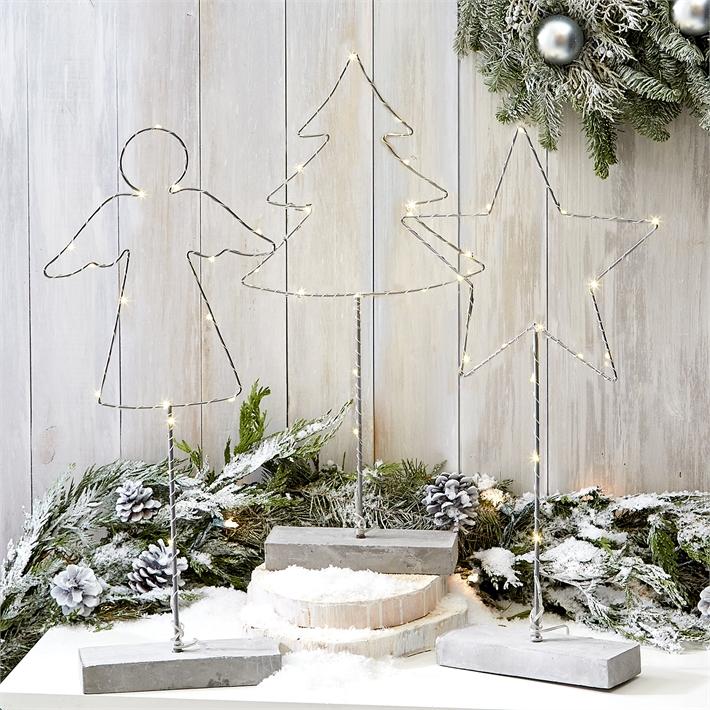 świąteczne figurki led