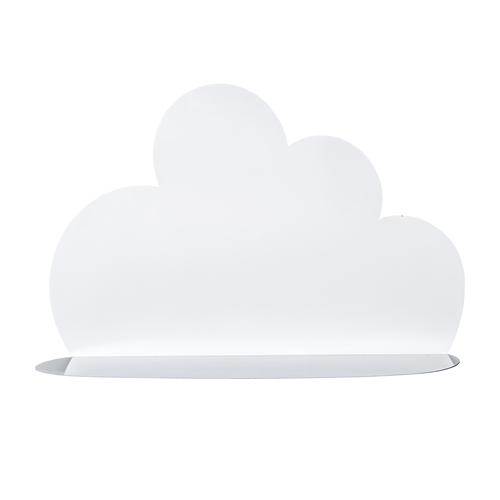 biała półka w kształcie chmury