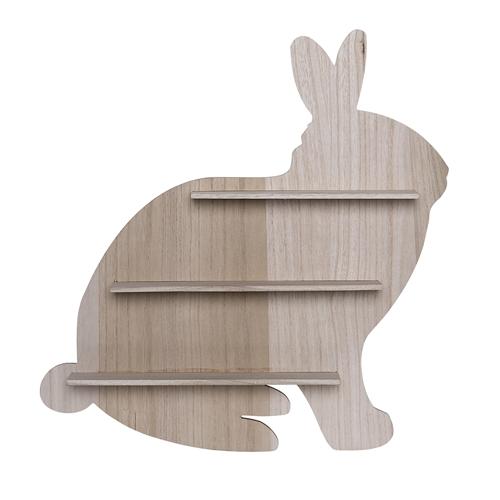 półka w kształcie królika