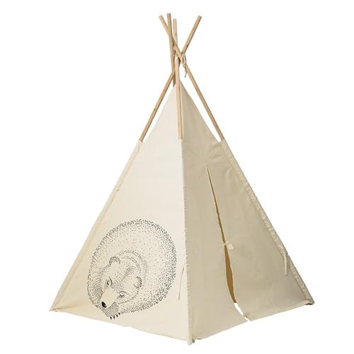 tipi - beżowy namiot dla dzieci