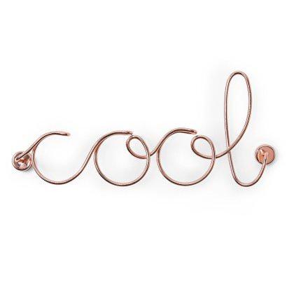 napis metalowy cool