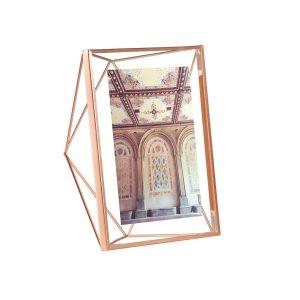 ramka na zdjęcia 13x18 5x7 umbra prisma kolor miedź