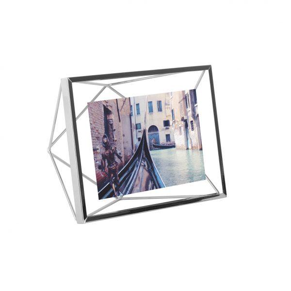 ramka na zdjęcia 10x15 4x6 umbra prisma kolor chrom