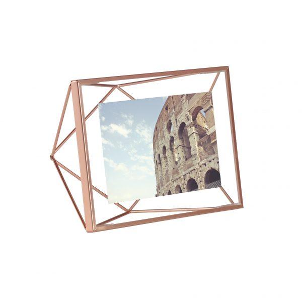 ramka na zdjęcia 10x15 4x6 umbra prisma kolor miedź