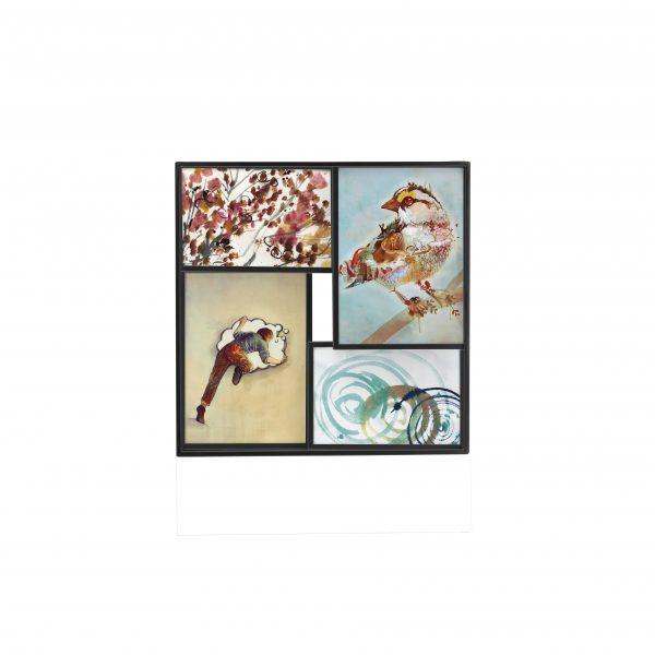 ramka na 4 zdjęcia (2x 4x6 i 2 5x7) MATRIX UMBRA