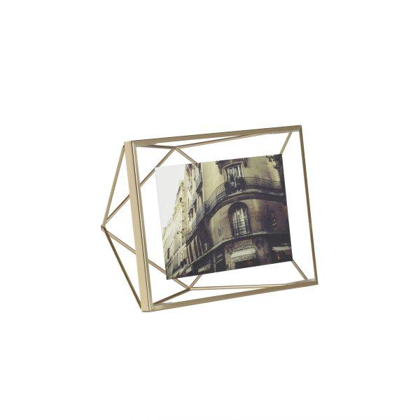 Mała matowa miedziana ramka na zdjęcia 4x6 10x 15 PRISMA Umbra