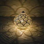 Zenza Home lampa stołowa princess Fan large duża