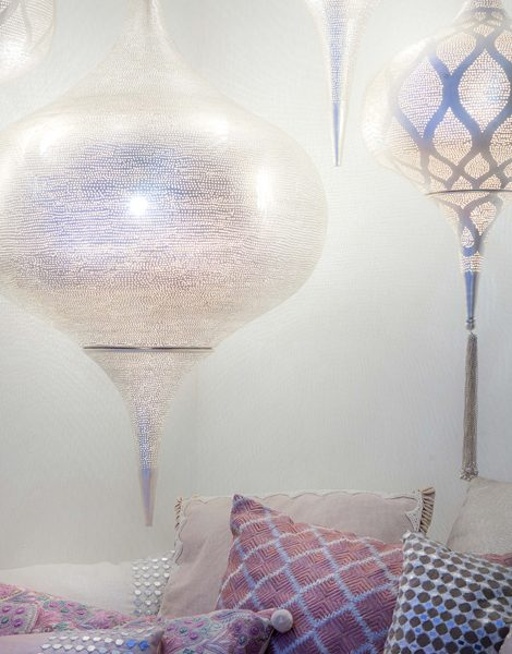 lampy Grace Sky i Grace Moorish Zenza Home