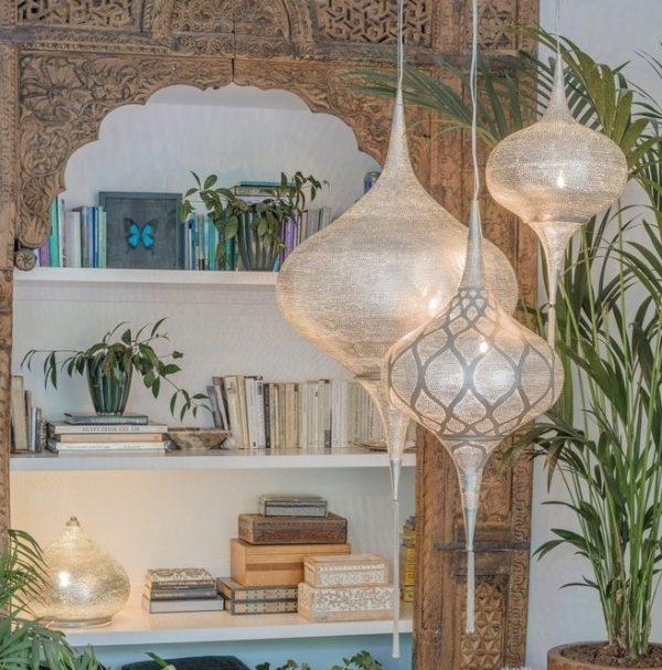 Orientalna Lampa Wisząca