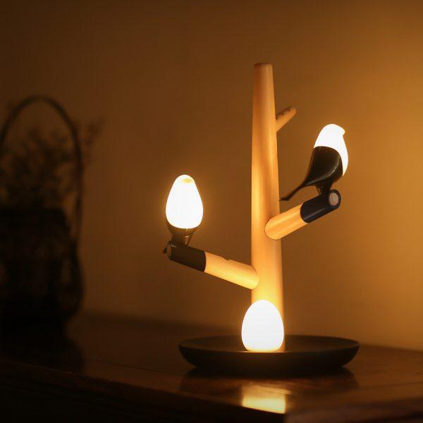 Ledowa lampa GNIAZDO