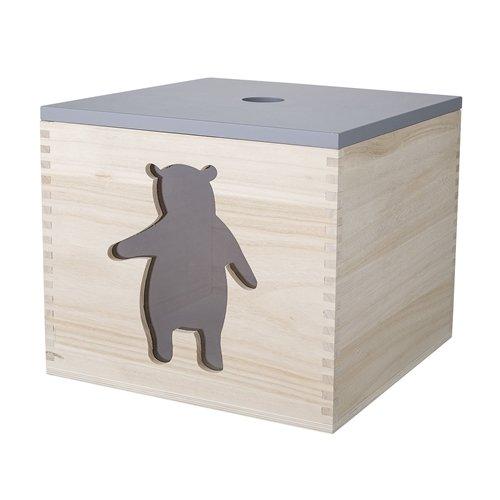 drewniany pojemnik na zabawki mis bloomingville