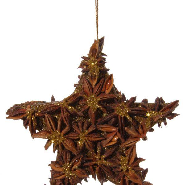 stroik anyżowa wisząca gwiazda 10 cm