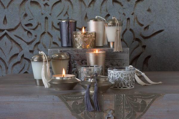 marokańskie świece zapachowe