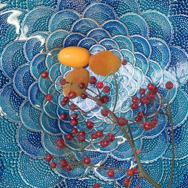 ręcznie malowany półmisek talerz Zenza Home