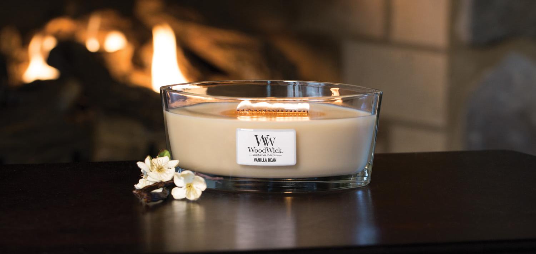 swieca zapachowa WoodWick vanilla bean