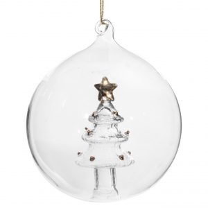 szklana bombka święta bożego narodzenia