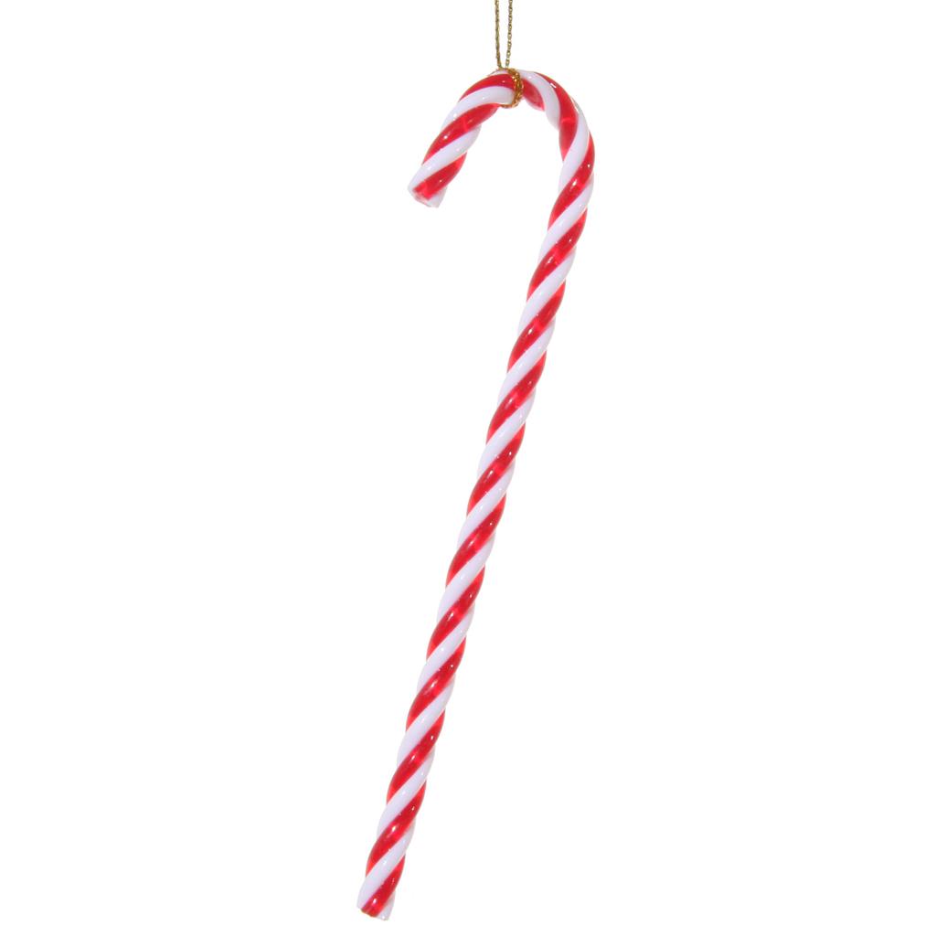 laska cukrowa bożonarodzeniowa zawieszka bombka akrylowa