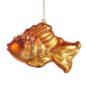 złota rybka bombka szklana bożonarodzeniowa SEAWORLD