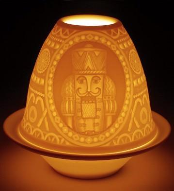 lladro dziadek do orzechów porcelanowy świecznik