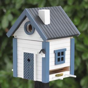 karmnik i budka dla ptaków 2w1